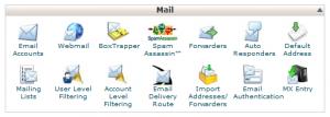 E-mail cPanel